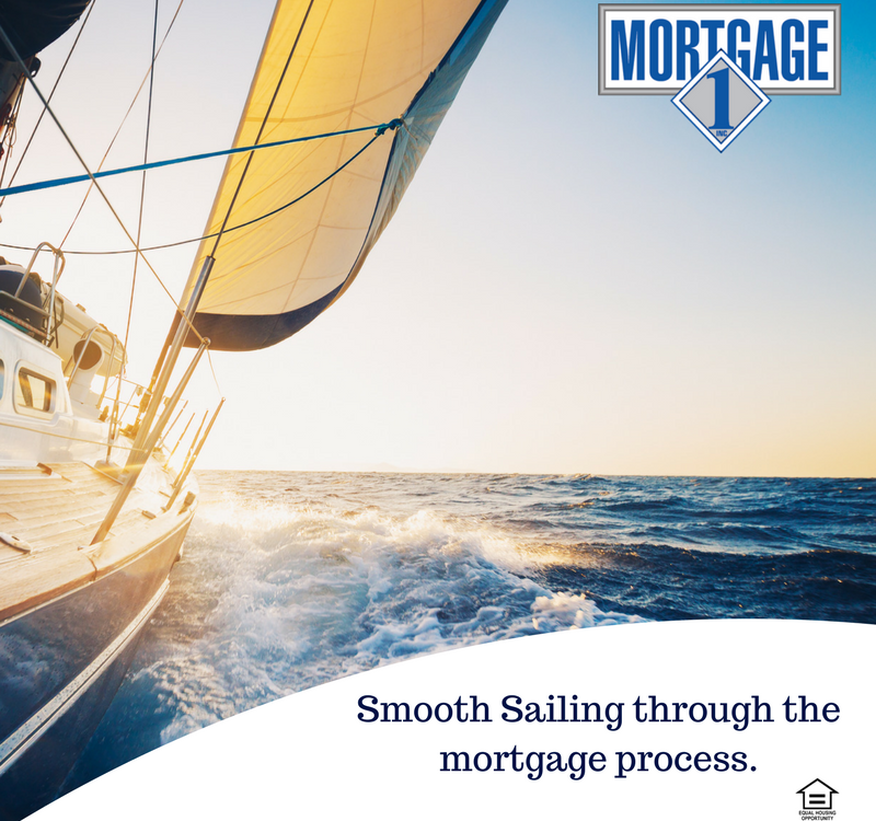 Smooth Sailing through the mortgage process