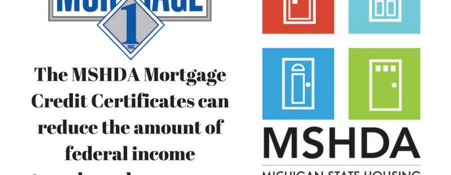 MSHDA Federal Tax Credit Calculation