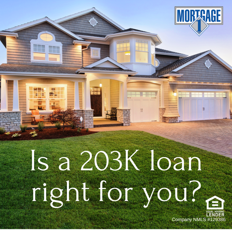Is a 203K loan right for you?