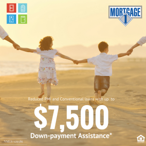 $7,500 Down-payment Assistance*