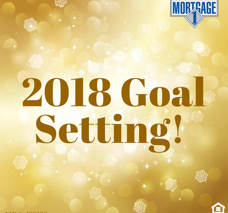 2018 Home Goal Setting,