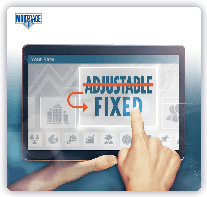Move to a fixed rate from an adjustable