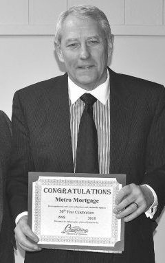 Jerry Meyer, found and president of Metro Mortgage Group of Owosso, Michigan.