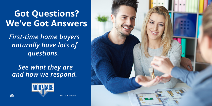 Mortgage questions from first-time buyers